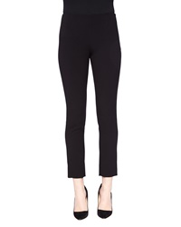 Lela Rose Cropped Catherine Pants Black Black 2