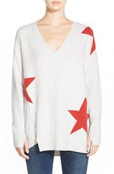 Women's Pam And Gela V Neck Sweater