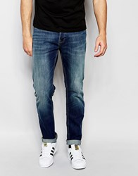 New Look Straight Jeans In Light Wash Pottery Blue
