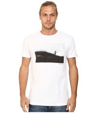 Deus Ex Machina Walk On Water Tee White Men's T Shirt