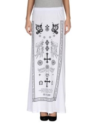 Odi Et Amo Long Skirts White