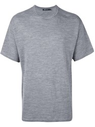 Alexander Wang T By Loose Fit T Shirt Grey
