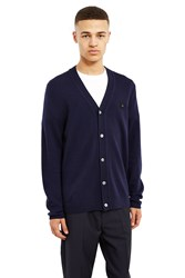 Acne Studios Dasher Face Cardigan Navy