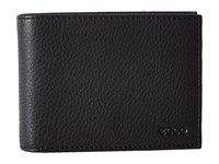 Ecco Gordon Trifold Wallet Black Wallet Handbags
