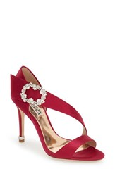 Women's Badgley Mischka 'Night' Crystal Embellished Evening Sandal 4' Heel