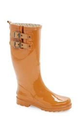 Women's Chooka 'Top Solid' Rain Boot Spice Orange