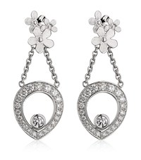 Theo Fennell Forget Me Not Tryst Drop Earrings Female