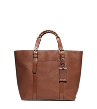 Michael Kors Bennett Medium Pebbled Leather Tote Luggage