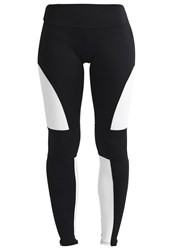 Onzie Tights Black White