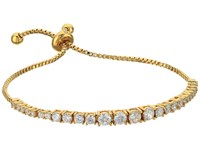 Rebecca Minkoff Stone Mix Pulley Bracelet Gold Crystal Bracelet