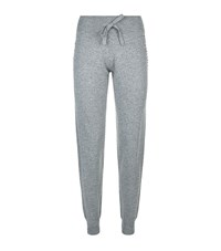 Harrods Of London Swarovski Cashmere Sweatpants Female Grey