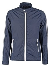 Solid Albus Summer Jacket Dark Blue