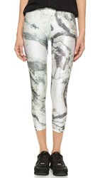 Zara Terez Marble Performance Capri Leggings Multi