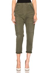 Citizens Of Humanity Ronja Cargo Pants In Green