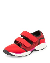 Double Grip Strap Sneaker Red Marni