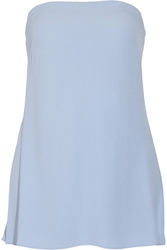 Adam By Adam Lippes Strapless Crepe Bustier Top