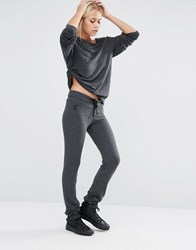 Wildfox Couture Essentials Malibu Skinny Sweats Clean Black