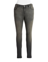 Vince Camuto Plus Plus Skinny Jeans Storm Grey
