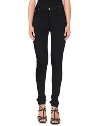 Met Denim Denim Trousers Women Black