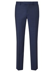 Daniel Hechter Pindot Tailored Suit Trousers Navy