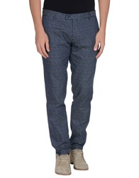 Massimo Rebecchi Trousers Casual Trousers Men Dark Blue