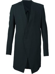 Julius Long Blazer Jacket Black
