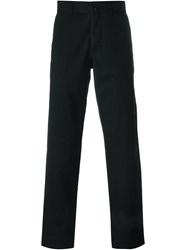 Oliver Spencer Regular Fit Trousers Black