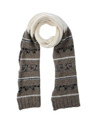 Dondup Oblong Scarves Khaki