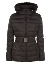 Jaeger Short Puffer Jacket Black