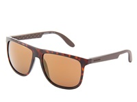 Carrera 5003 S Havana Dark Brown Flash Gradient Plastic Frame Fashion Sunglasses