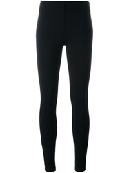 Ermanno Scervino High Waisted Leggings Black