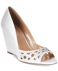 Styleandco. Style Co. Cathiee Evening Wedge Pumps Only At Macy's Women's Shoes White