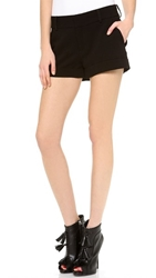 Haute Hippie Tailored Shorts Black