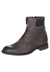 Marc O'polo Laceup Boots Almond Taupe