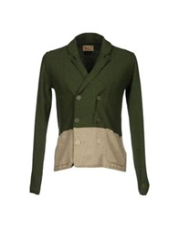 Vintage 55 Cardigans Military Green