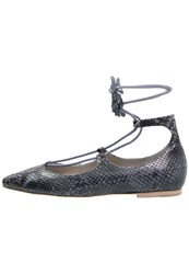 Kennel Schmenger Ballet Pumps Denim Blue