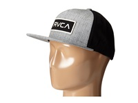 Rvca Rectangle Snapback Grey Noise Caps Gray