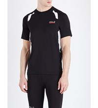 Polo Ralph Lauren Panelled Compression Thermovent T Shirt Polo Black