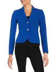 Calvin Klein Two Button Cropped Blazer Regatta Blue