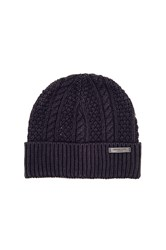 Scotch And Soda Beanie In Monsanto Quality Navy