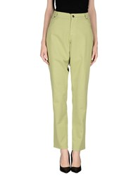 Xandres Trousers Casual Trousers Women Light Green