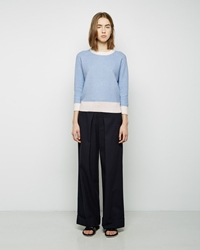Band Of Outsiders Wide Leg Pants Classic Navy