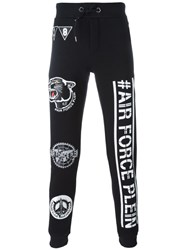 Philipp Plein 'Cat Eyes' Track Pants Black