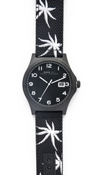 Marc By Marc Jacobs Jimmy 42Mm Strap Watch Black Black White Fern