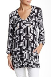 Macbeth Collection Hooded Tunic Multi