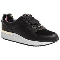 Ted Baker Lwoire Lace Up Trainers Black