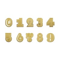 Tom Dixon Numbers Paper Clips Set Of 10