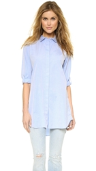 Mih Jeans The Oversized Shirt Blue