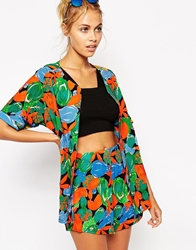 Baseball Tropicana Beach Shirt Co Ord