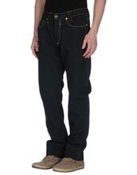 Uniform Denim Pants Deep Jade